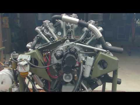 Guiberson radial diesel engine