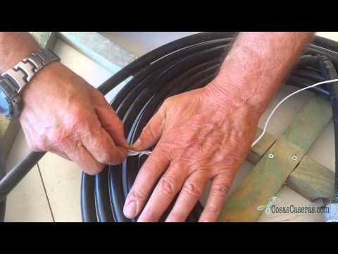 Como hacer un calentador de agua solar casero youtube for Calentador piscina casero