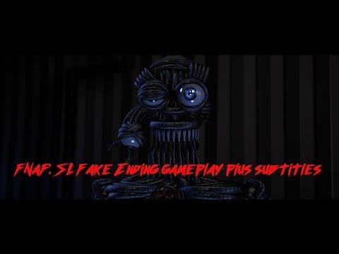 [FNaF: SL] (Fake Ending) - Ennard voice lines + subtitles