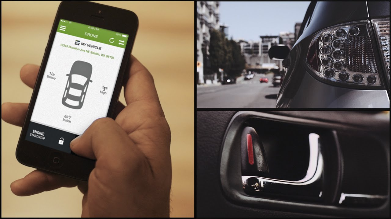 Dronemobile Smartphone Car Control And Tracking Solution By Firstech You