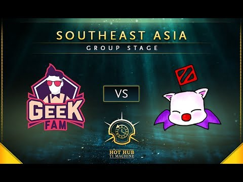 Geek Fam vs Moogle - TI7: SEA Regional Qualifiers Group Stage - @LysanderXonora