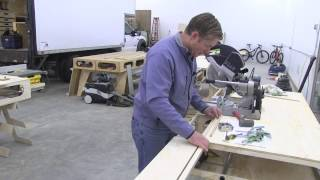 Building The Paulk Total Station Part 10 Detailing And Installing The Miter Saw Bench Top