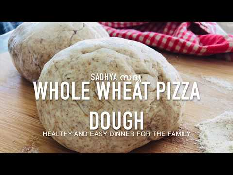 The Best Whole Wheat Pizza (Herb&Garlic)