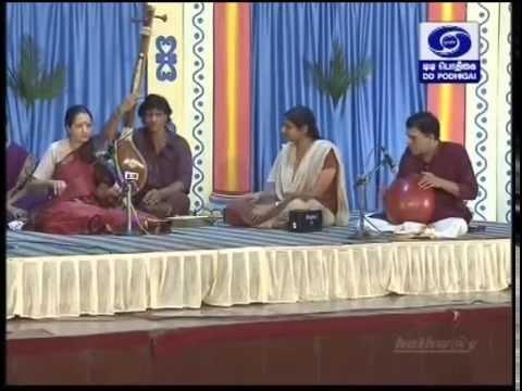 Lalitha Raghavan Violin 01 Kanada Maamavasada Swati Thirunal Kriti