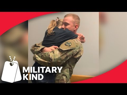 Soldiers surprise their siblings with military homecomings  | Militarykind