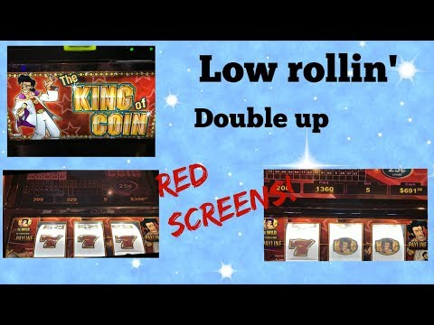 VGT - King of Coin - red screens! Nice wins! Low rollin' fun!