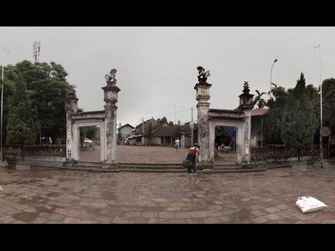 360° Video 4K: Mong Phu Communal House at Duong Lam Ancient Village - Đình Mông Phụ Đường Lâm