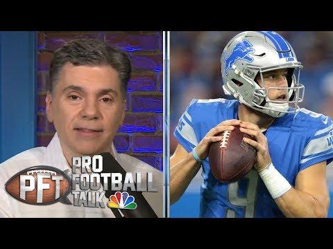 Could Matthew Stafford join chaotic QB trade market? | Pro Football Talk | NBC Sports