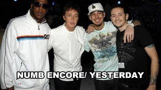 Linkin Park ft. Jay Z and Paul Mccartney - Numb Encore/yesterday subtitulada al español 2013