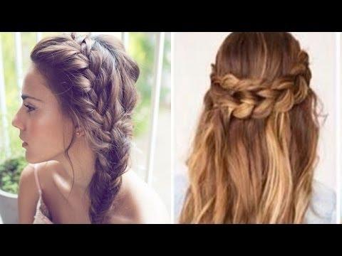 Peinados Sencillos Paso A Paso Youtube
