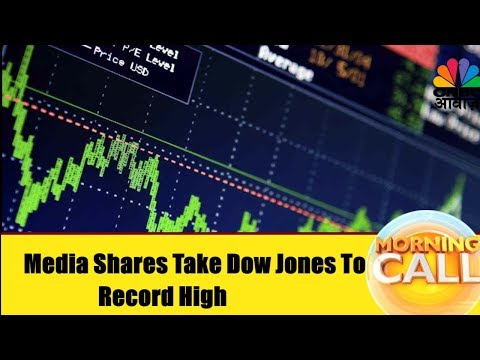 Media Shares Take Dow Jones To Record High | Business News T