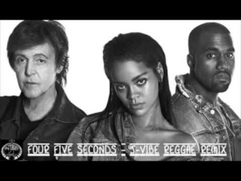 2015 @Rhianna / @KanyeWest / @PaulMcCartney - Four Five Seconds [J-Vibe  Reggae Remix]