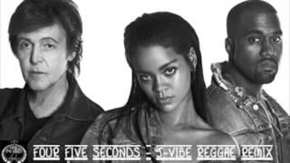 2015 @Rhianna / @KanyeWest / @PaulMcCartney - Four Five Seconds [J-Vibe Reggae Remix]