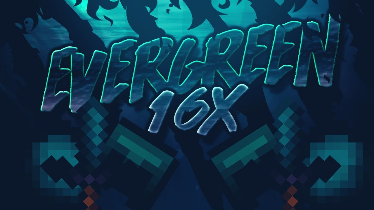 Minecraft Evergreen 16x + Discord Release 🔥 (Hypixel Skywars/PvP Texture Pack)