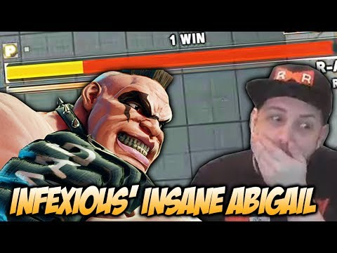 INFEXIOUS' ABIGAIL IS INSANE - Street Fighter V Stream Highlights
