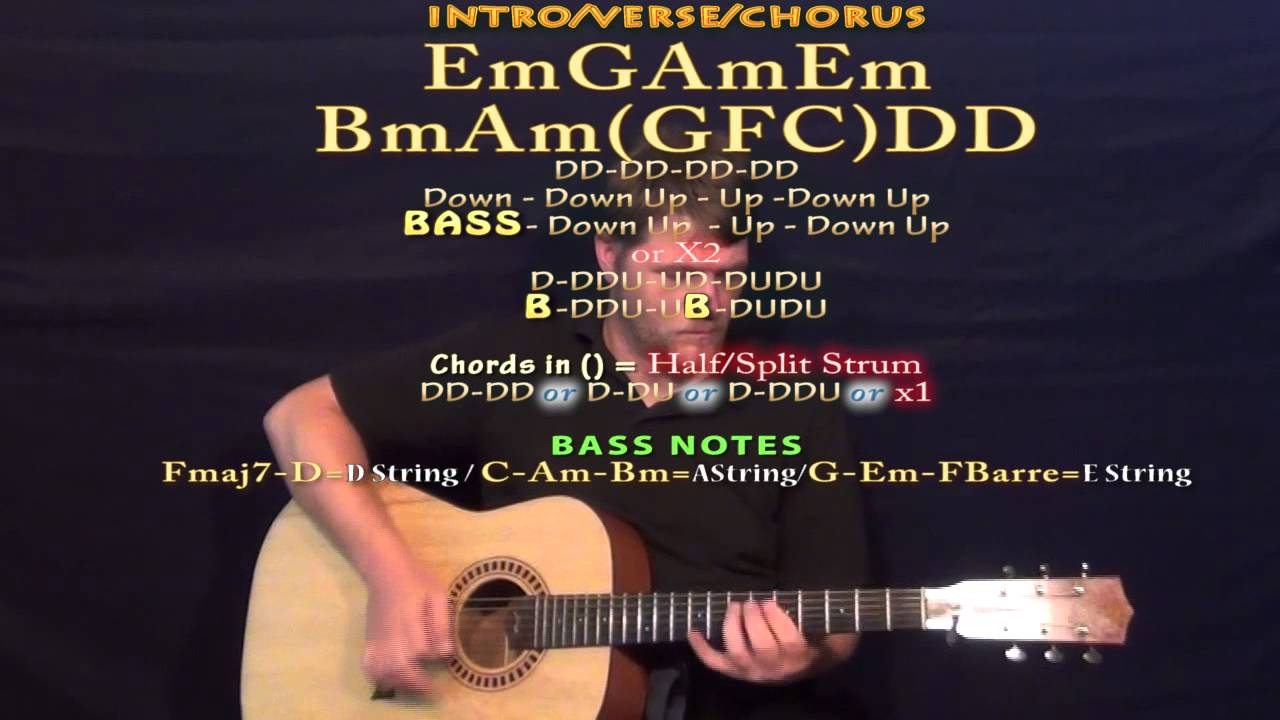 Little Wing Guitar Strum Cover Lesson With Chordslyrics Youtube