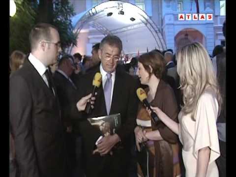 caravaggio in montenegro, opening ceromony , Mario Resca, live on Atlas TV