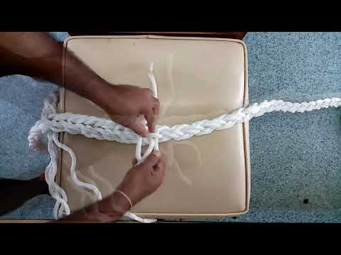 How To Splice In An 8 Strand Rope