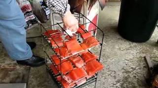 Dad Smoking Sockeye Salmon May 12, 2011.m4v