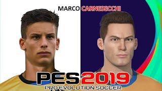 Marco carnesecchi   pes 2019/2020/2021 face build & stats