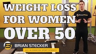 Weight Loss Tips for Women Over 50 - That You Must Know