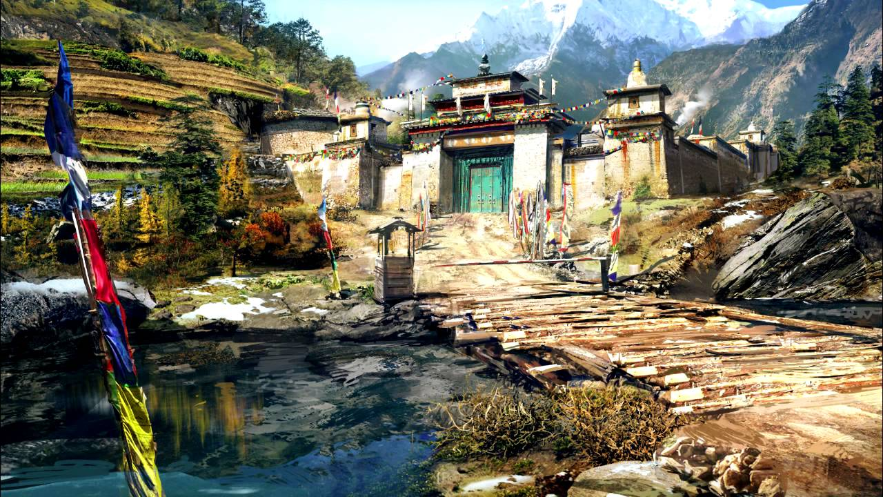 Far Cry 4 Soundtrack Unfamiliar Paths 1h Youtube