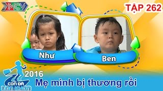 con da lon khon - tap 262  phat sot voi ngon tu sieu cute cua doi ban than nhi  06082016
