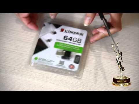 флешка Kingston DataTraveler microDuo 3.0 (64 Гбайт)