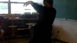 Mr. Francis dances to Enya