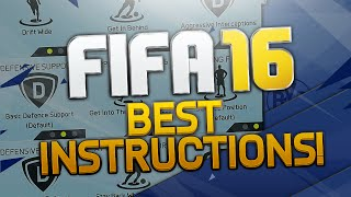 FIFA 16 Best Custom Player Instructions Tutorial / Best Attack & Best Defense / Tips & Tricks