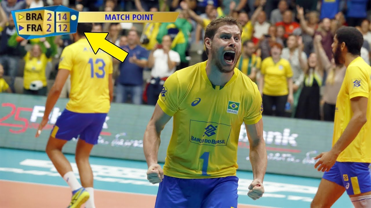 This is One of The Most Dramatic Sets in Volleyball History (HD)