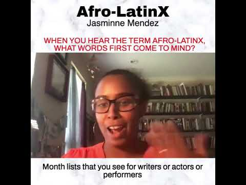 Defender Network: Jasminne Mendez on Words That Come to Mind When Thinking Afro-Latinx (9/21)