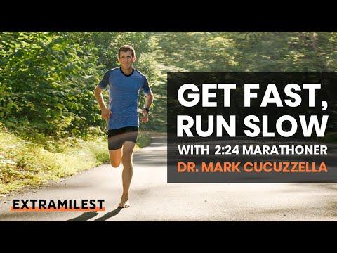 Get fast, run slow with Dr. Mark Cucuzzella (2:24 marathoner)