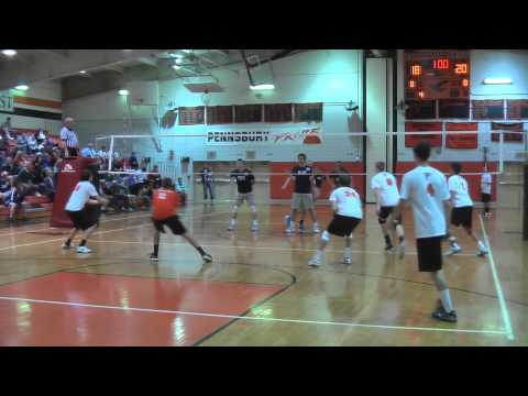 Pennsbury vs Council Rock North Boys Volleyball