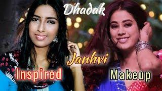 Janhvi Kapoor [Dhadak]  Inspired Makeup Look ||  Easy And Natural Makeup