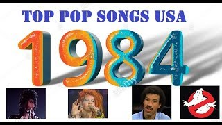 Top Pop Songs USA 1984