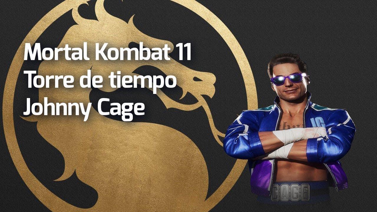 GLICH EN LA PARTIDA! Torre de tiempo Johnny Cage MK11 Nintendo Switch