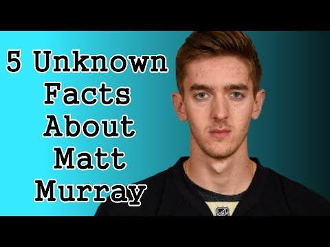 Matt Murray/Five Facts You Never Knew
