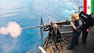 USA vs Iran: U.S. Navy ship fires warning shots at Iranian boat in tense Persian Gulf - TomoNews