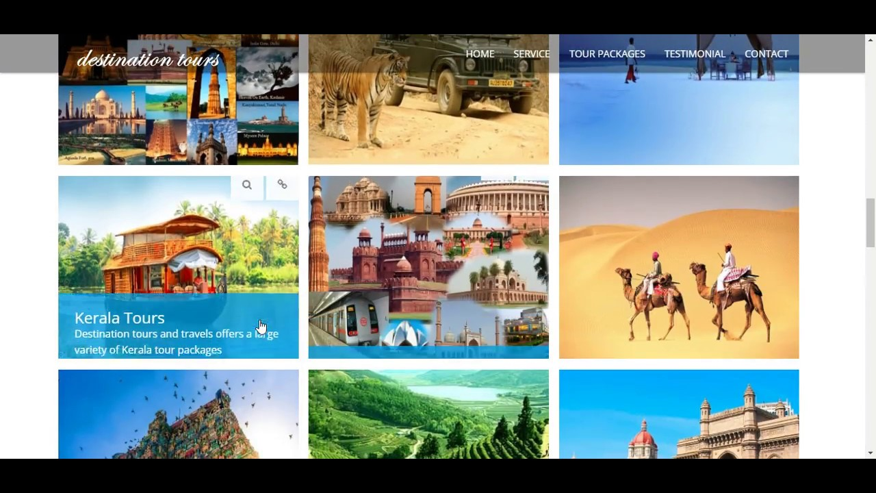 Destination Tours And Travels Online Tour Operator In India - Vacation tour and travel