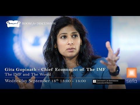 Gita Gopinath: Chief Economist of the IMF