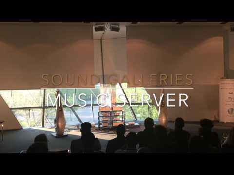 Sound Galleries Music server presentation at Munich High-End Audio Show 2016