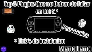 Top 5 Plugins Para PSP que no deben faltar