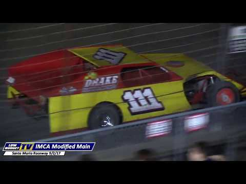Main Event: IMCA Modifieds at Santa Maria Raceway 9/2/17