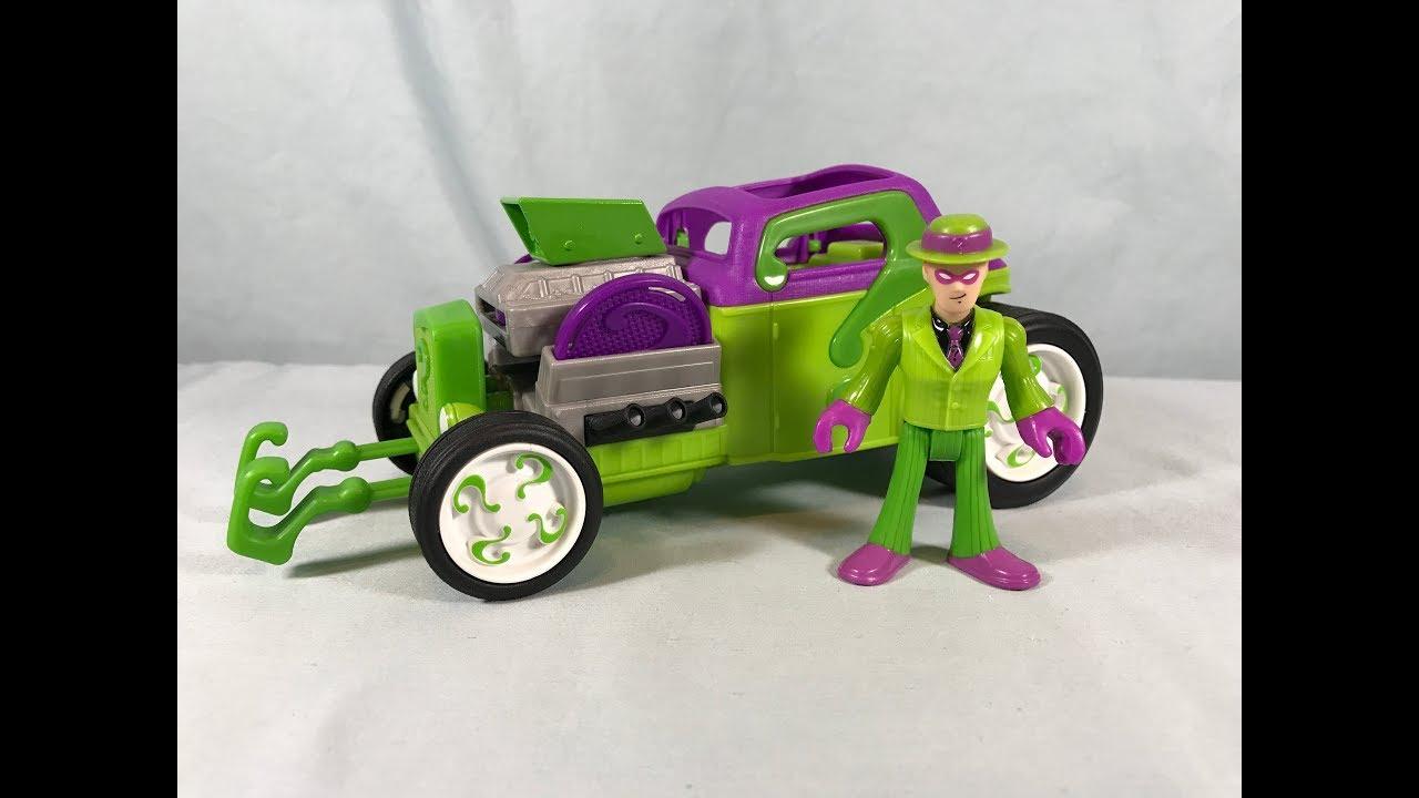 Imaginext Figures Riddler & Genie Wishes Turn Batman Into ... |Imaginext Riddler