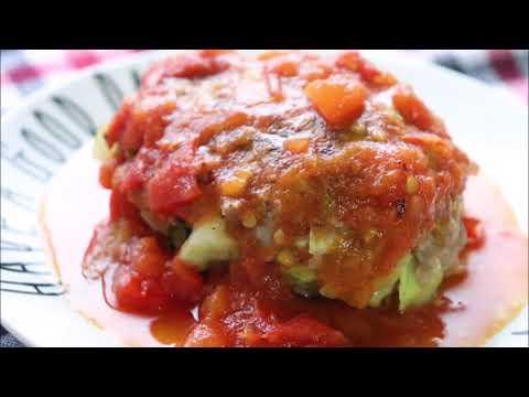 recette-de-bombe-de-chou-à-la-sauce-tomate-rapide-et-déliceux