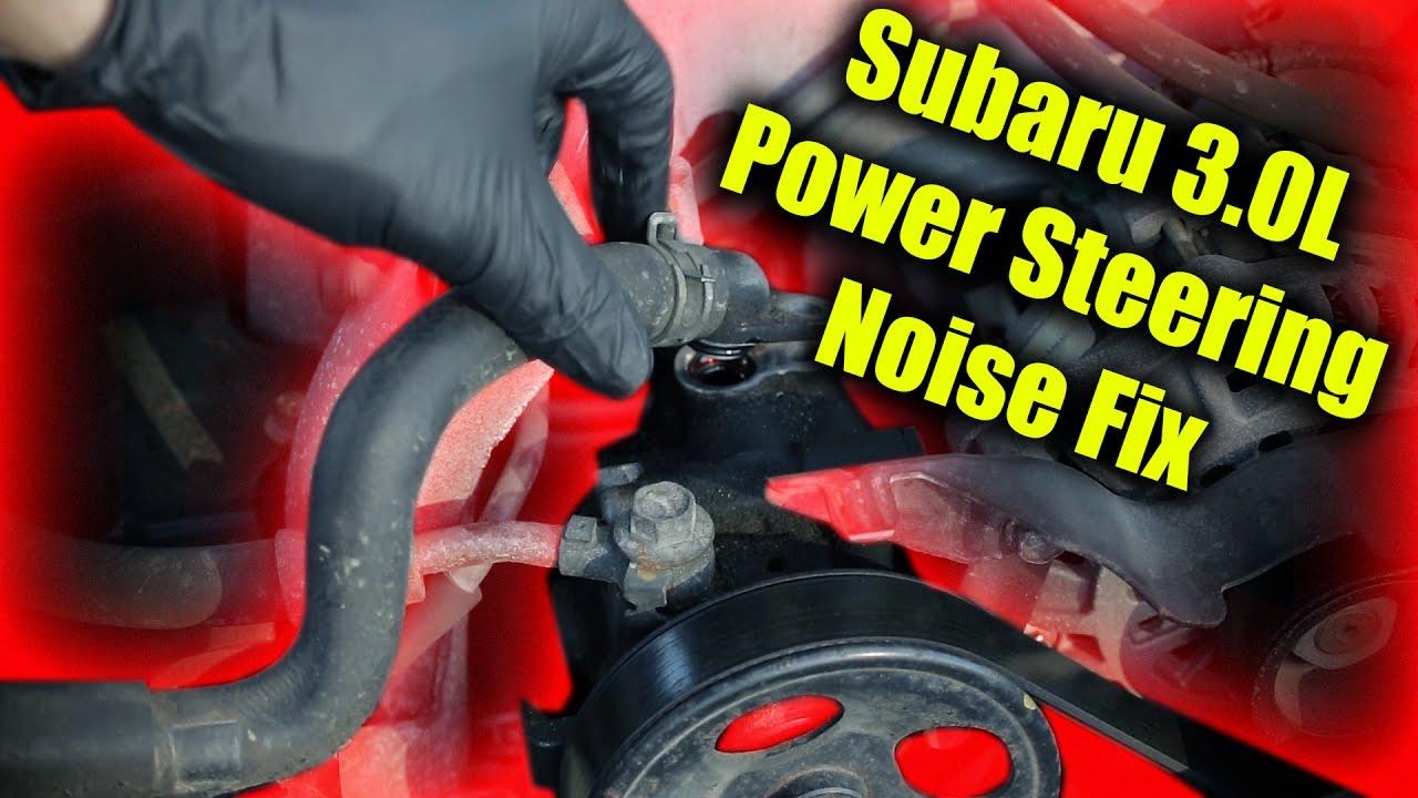 subaru outback 2000 power steering fluid
