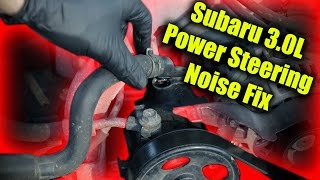 subaru outback tribeca h6 power steering fix