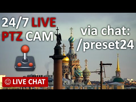 LIVE CAMERA Nevskiy avenue St. Petersburg Russia Live Chat. Невский пр. Санкт-Петербург и живой чат