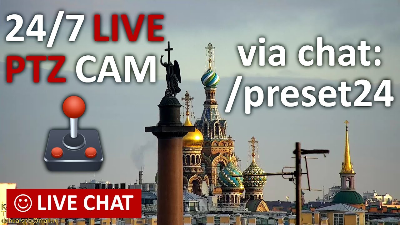 Download 🔴 LIVE CAMERA Amazing St. Petersburg Russia Live Chat. �ев�кий пейзаж Санкт-Петербург и живой чат